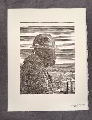 Image of An Able Bodied Sailor- Letterpress Print