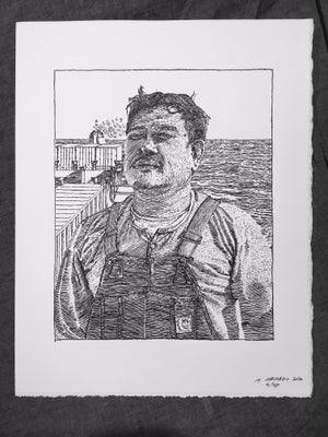 Image of Rex, An Able Bodied Sailor- Letterpress Print