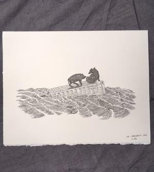 Image of Hog Heaven- Letterpress Print