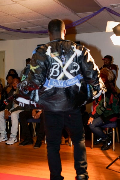 Image of Custom BxD Leather Jacket