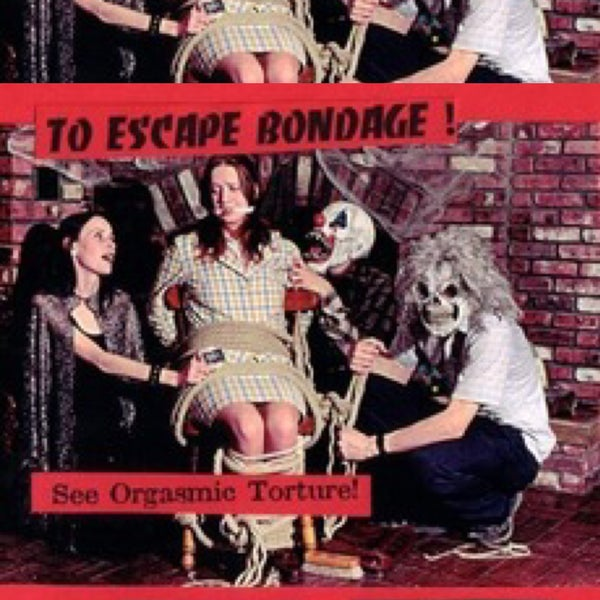 Image of THE LOST WILLIAM HELLFIRE COLLECTION: TO ESCAPE BONDAGE / THE SWINGING SWINGER Double Feature VHS