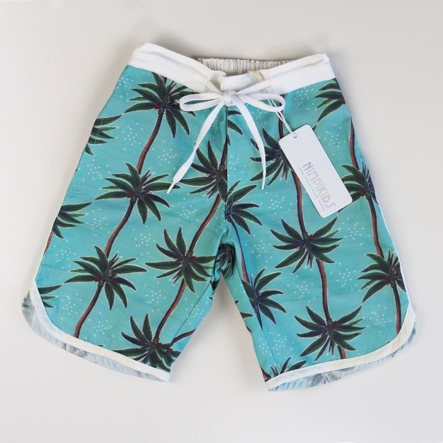 Image of Retro Board Shorts - Vintage Coco Luxe