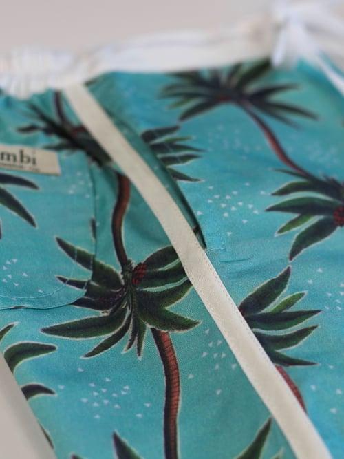 Image of Retro Board Shorts - Vintage Coco Luxe