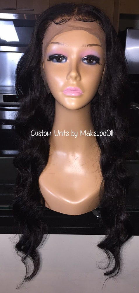 """Image of Indian Natural Waves 26"""" Lace Frontal Wig!"""