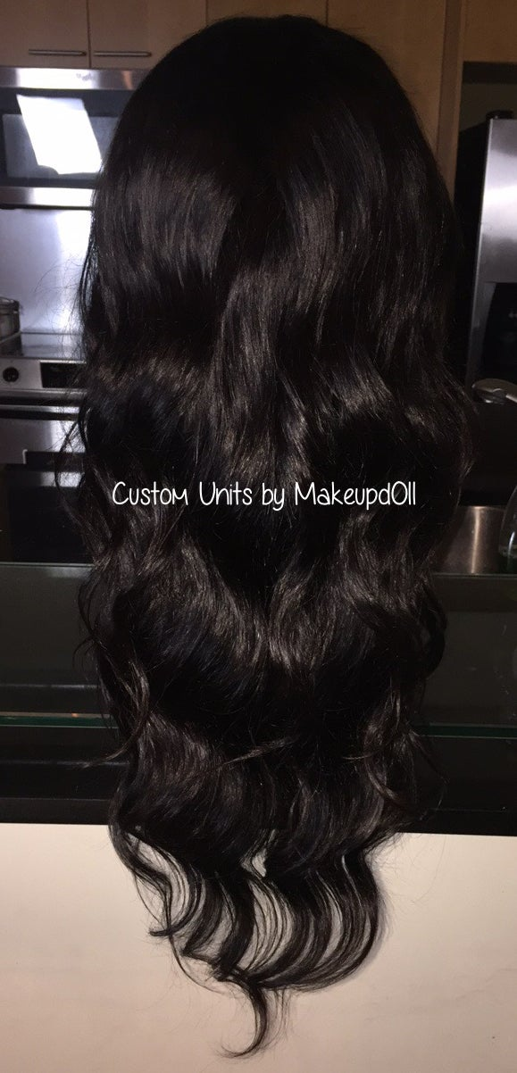 "Image of Indian Natural Waves 26"" Lace Frontal Wig!"