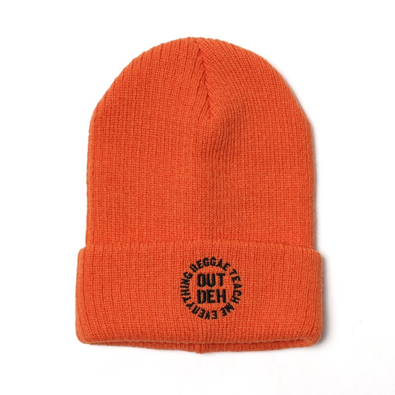 Image of Out Deh x RTME Beenie (Orange)