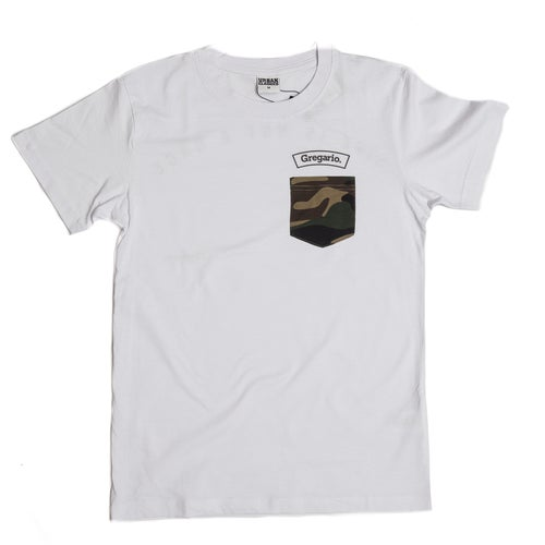 "Image of ""Life Is Not A Race"" CAMO POCKET"