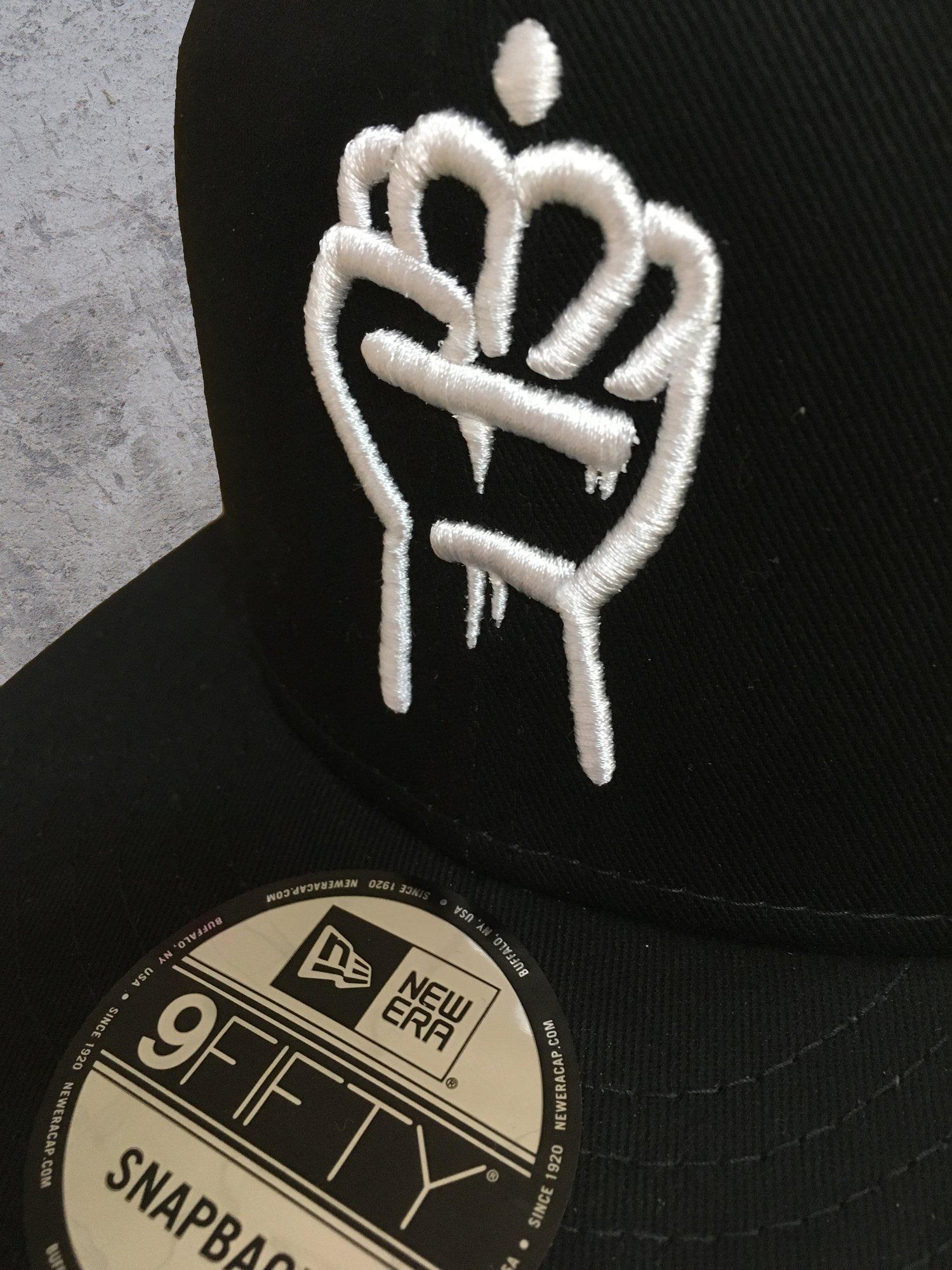 Image of QC Fist New Era Snapback Hat