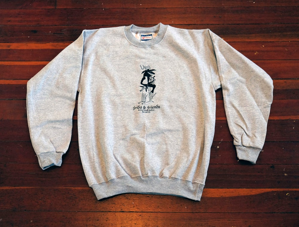 Image of Frida & Friends crew neck sweatshirt