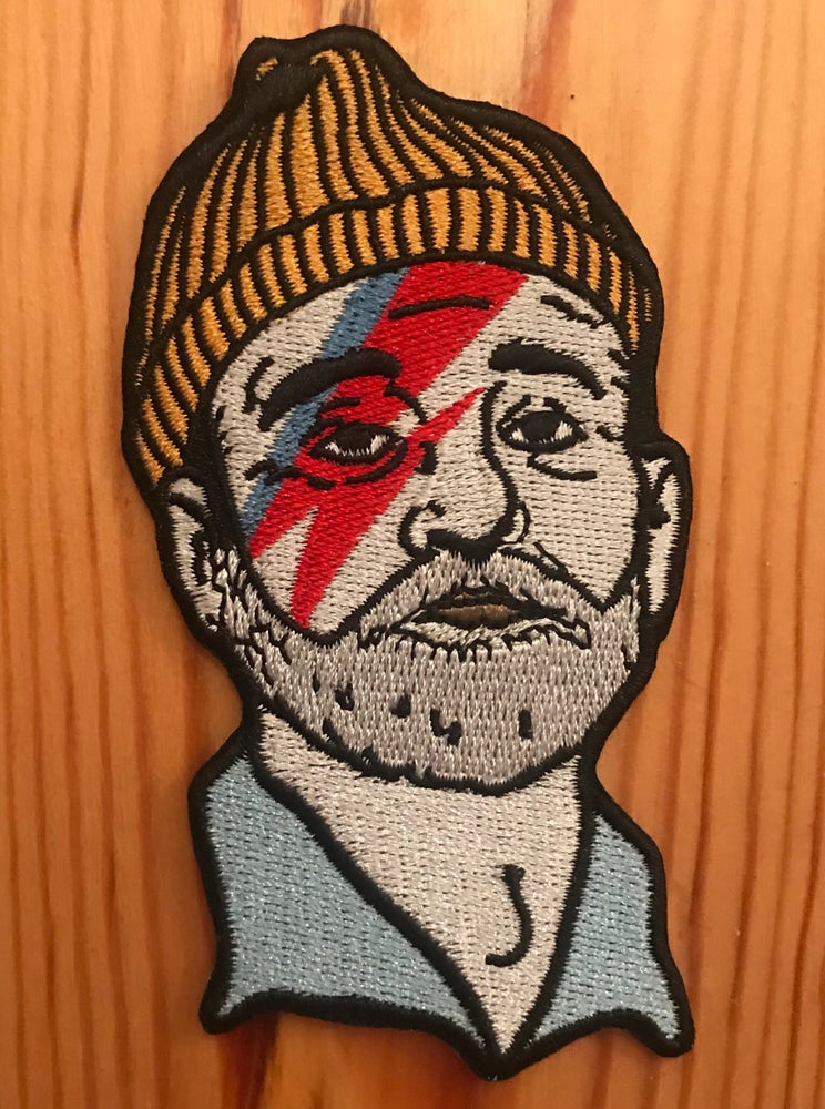 Image of Zissou / Bill Murray patch