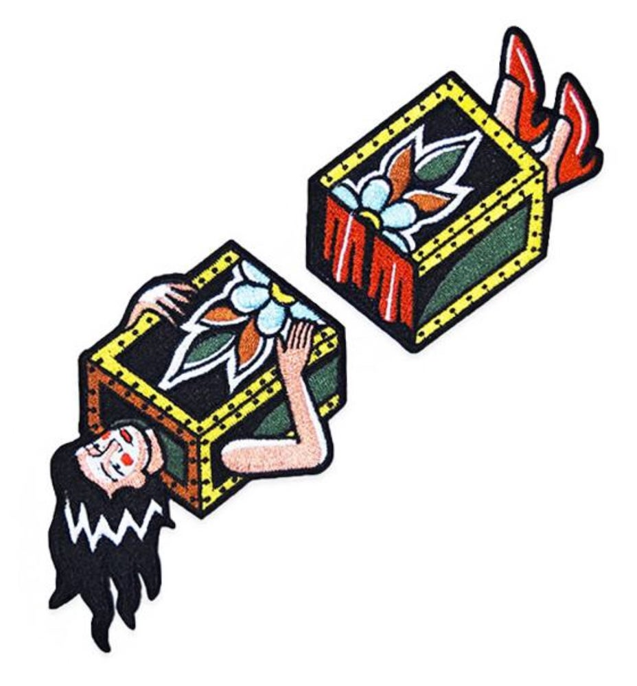 Image of Two-part magic lady patch