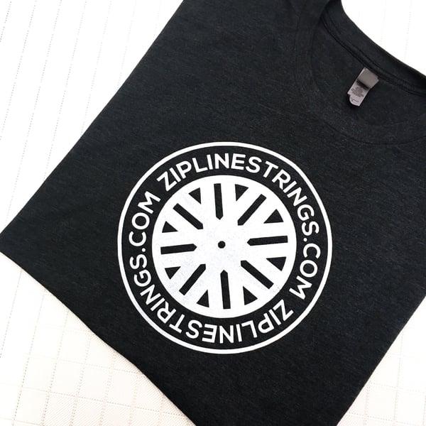 Image of ZipLine Shirt *Charcoal*