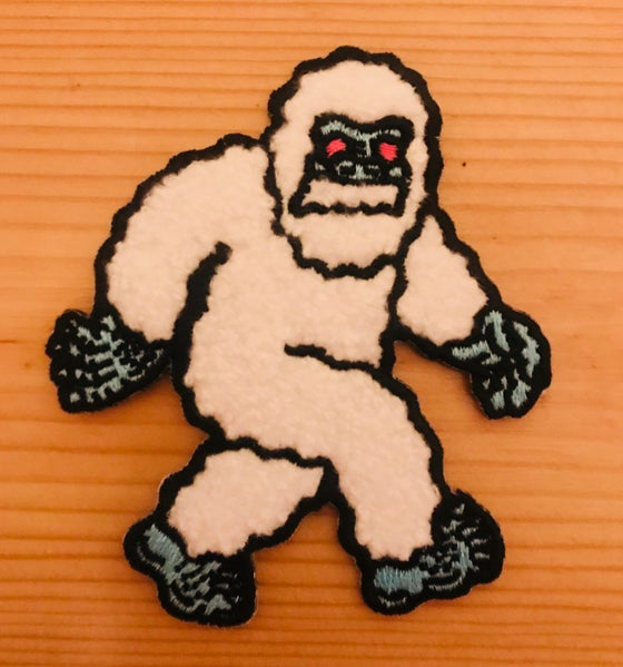 Image of Sasquatch patch