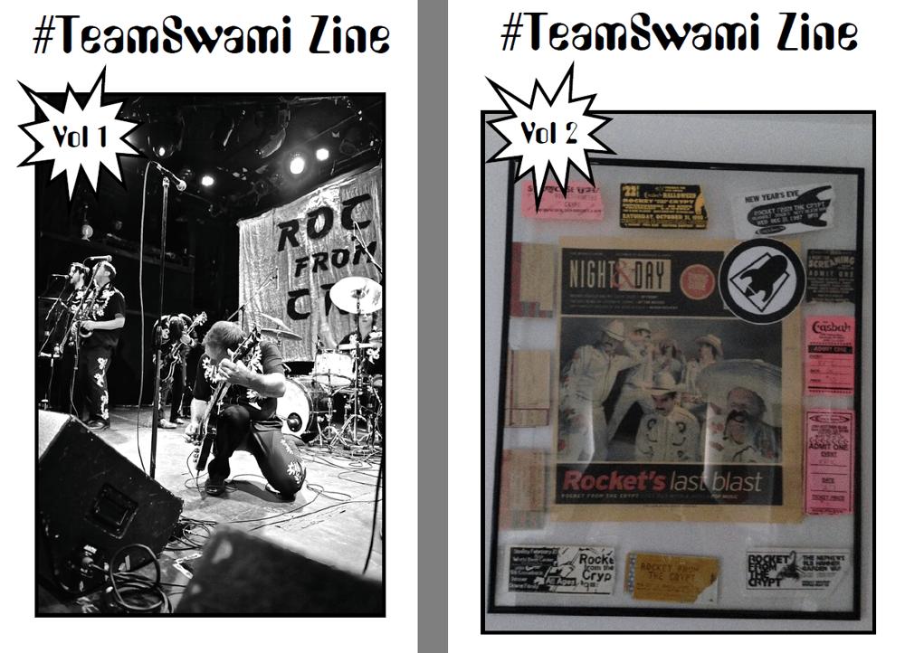 Image of #TeamSwami zine vols. 1 & 2