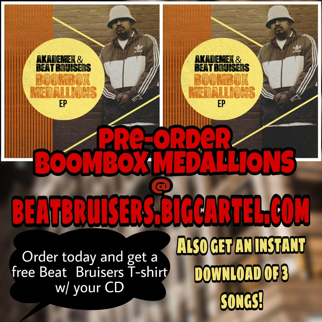 Image of Boombox Medallions