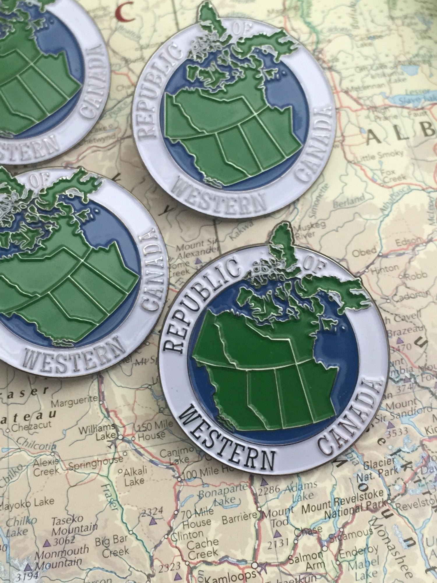 Image of The Republic Of Western Canada Pin