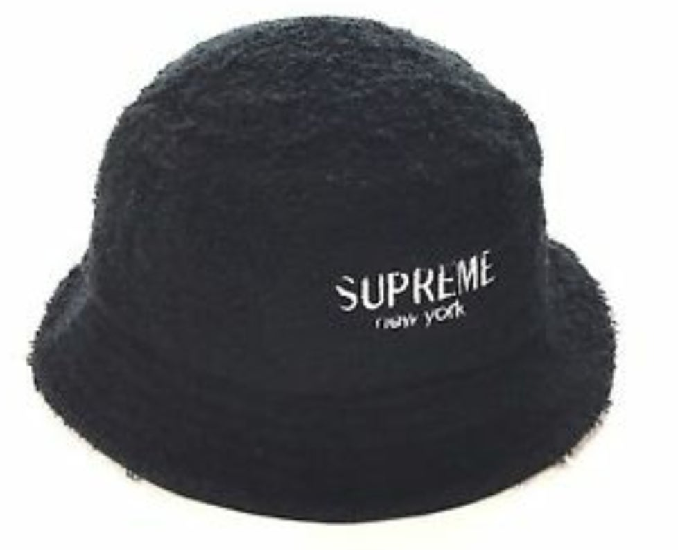 Image of Supreme Black Bucket Hat
