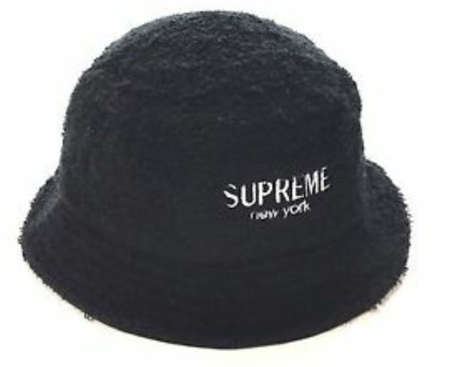 Image of Supreme Black Bucket Hat