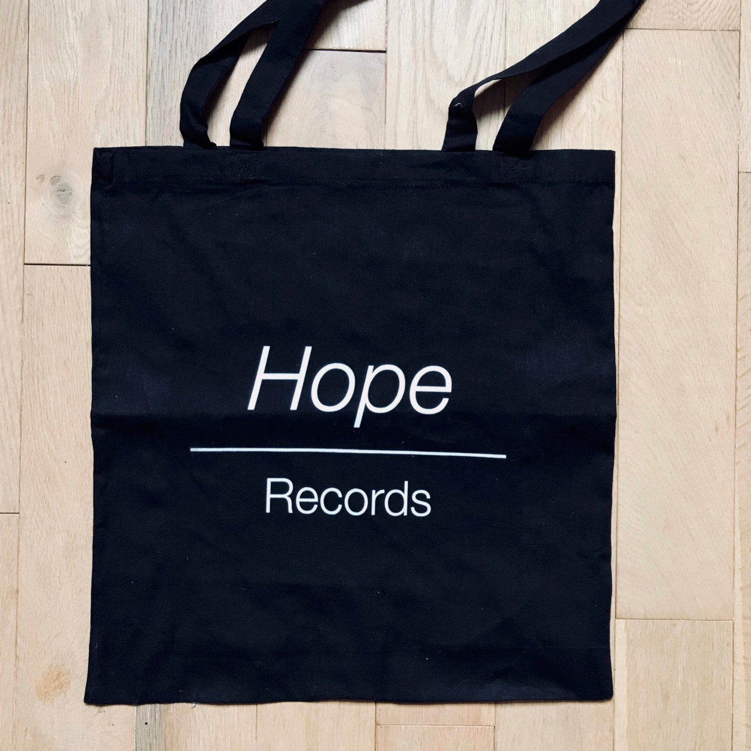 Image of Tote Bag - Hope Records (Noir)
