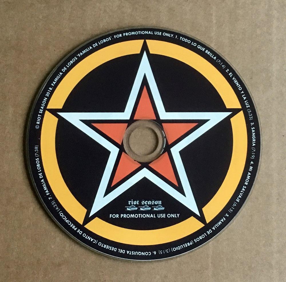 FAMILIA DE LOBOS 'Familia de Lobos' Promo CD-R