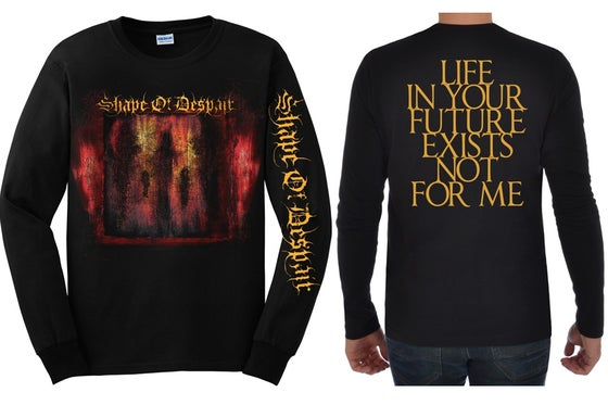 Image of Descending Inner Night - Longsleeve Shirt (+ cd bundle)
