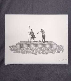 Image of Wayfarers and Fairwayers- Letterpress Print