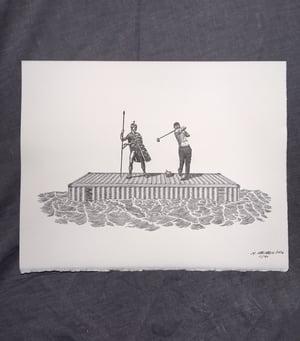 Image of Wayfarers and Fairwayers- Letterpress Print