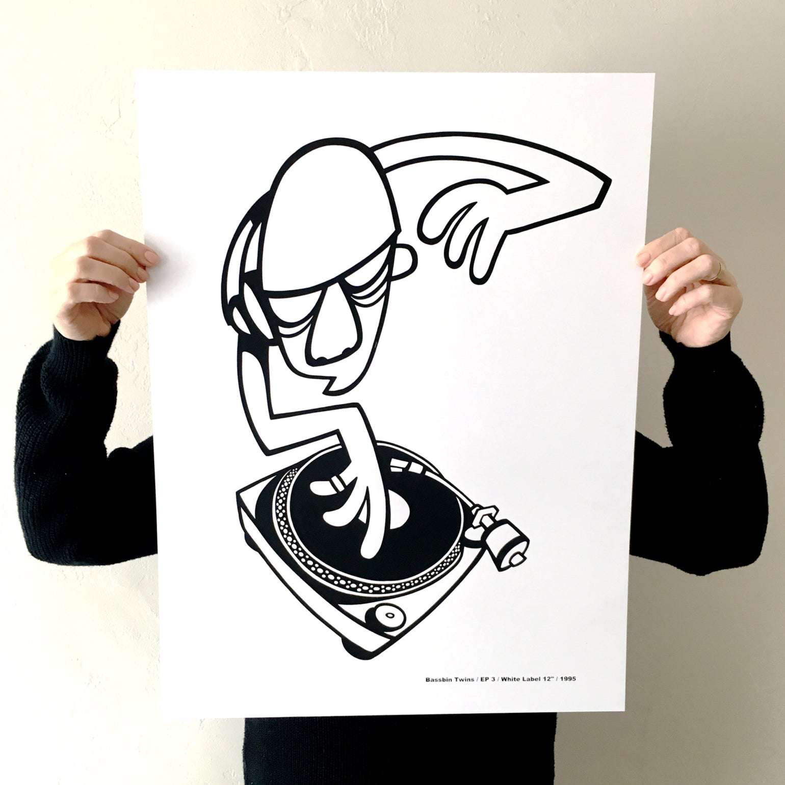 Image of 'EP 3' SCREEN PRINT