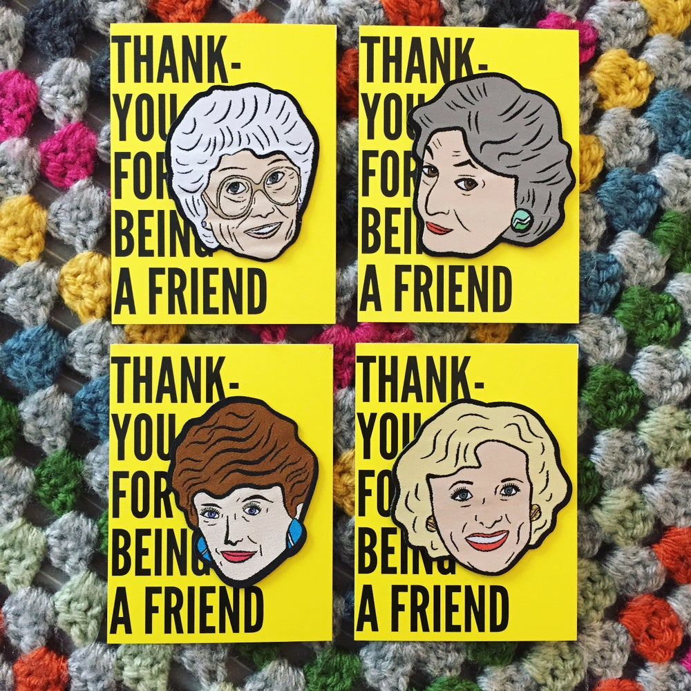Image of The Golden Girls Woven Patch Pack!