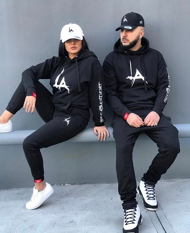 Image of The Pentagon LA Joggers - (BLACK)