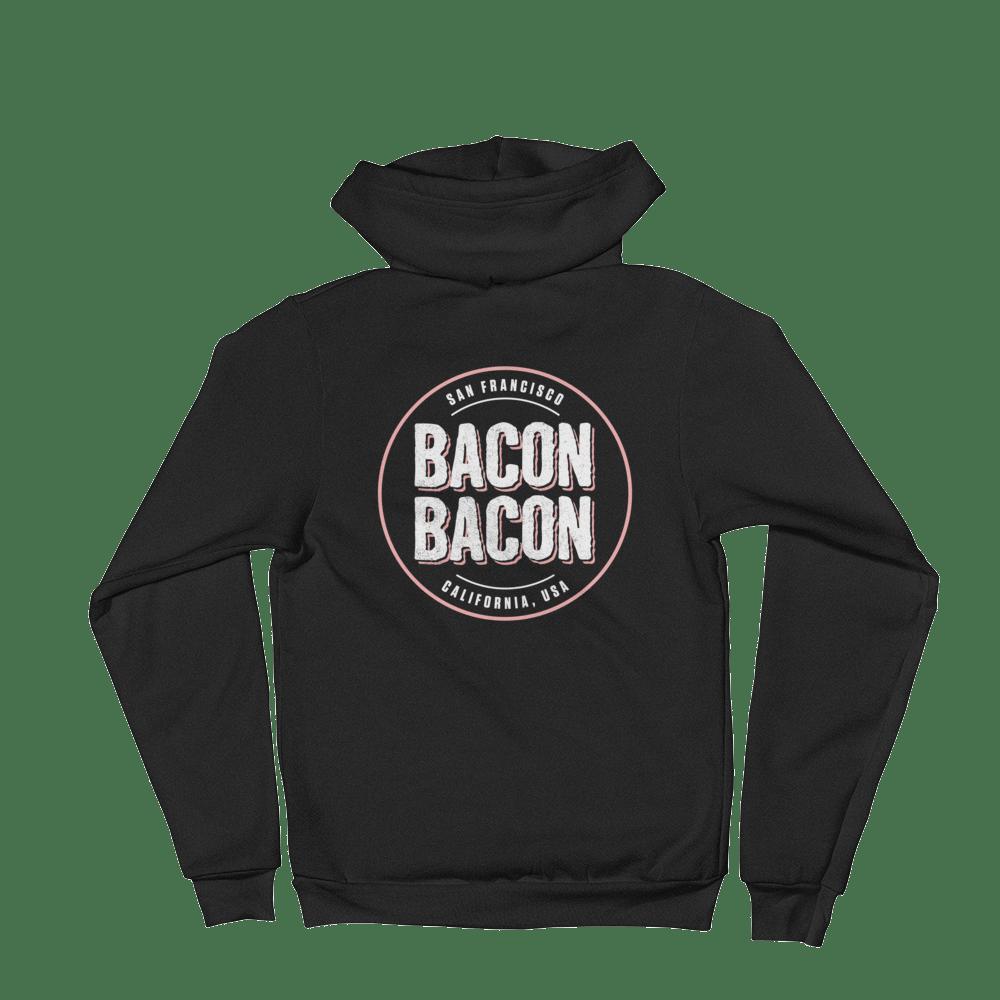 Image of Bacon Bacon Logo Zip Hoodie