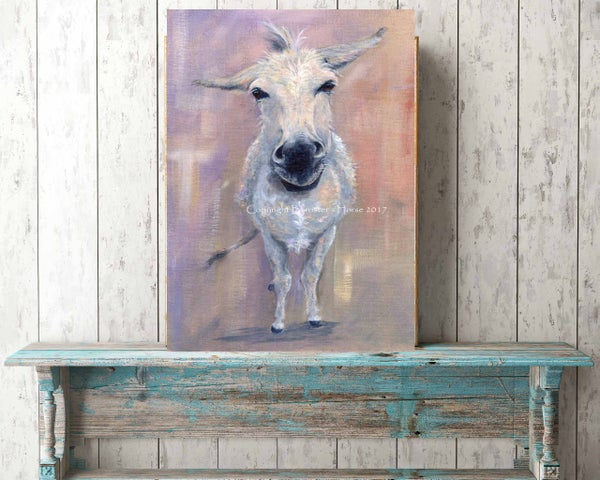 Image of LITTLE DONKEY, FINE ART PRINTS