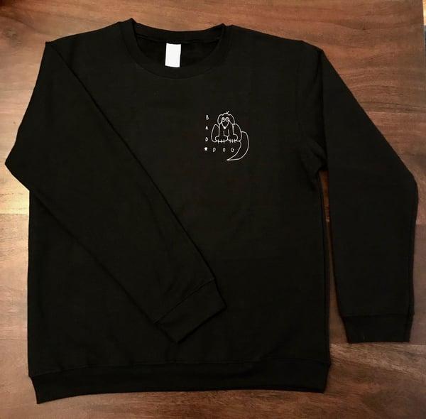 """Image of """"Bad Dog"""" Crewneck Sweatshirts"""