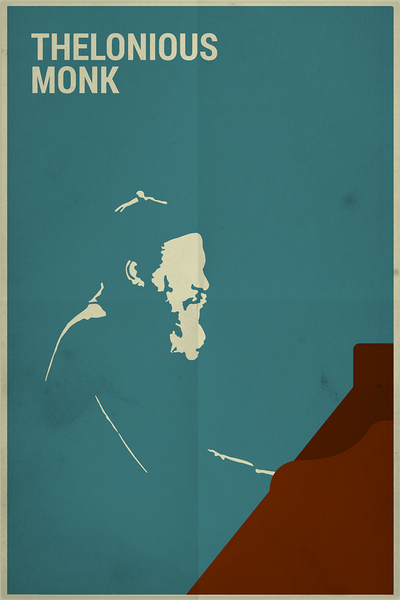 image of thelonious monk poster