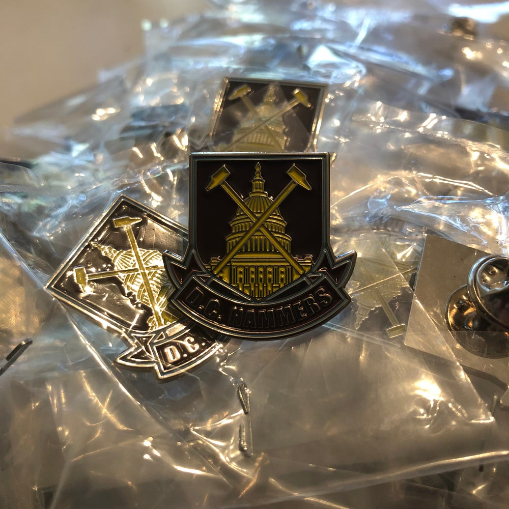 """Image of D.C. Hammers """"Capitol"""" Pin Badge"""