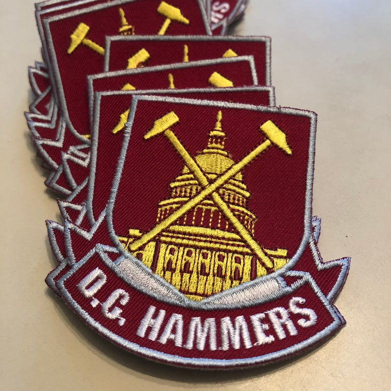 "Image of D.C. Hammers ""Capitol"" 3 inch Patch"