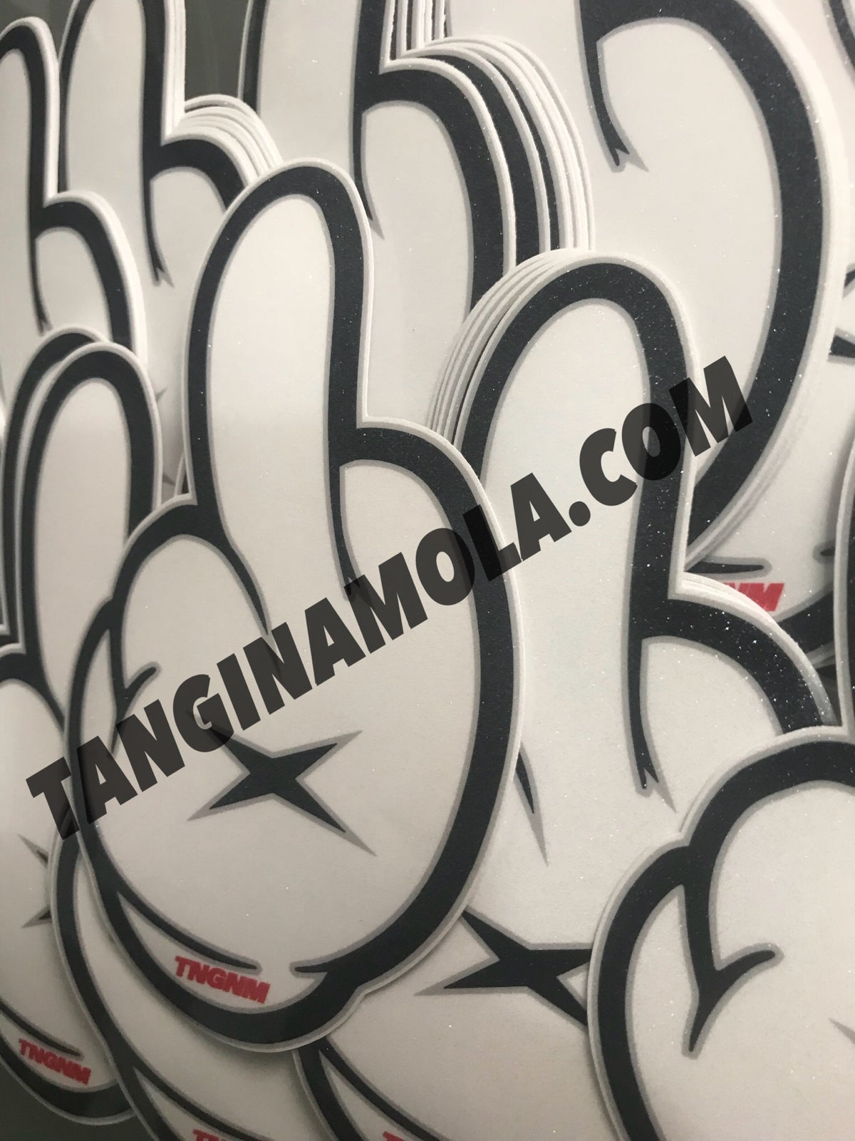 Image of TNGNM FINGER STICKER