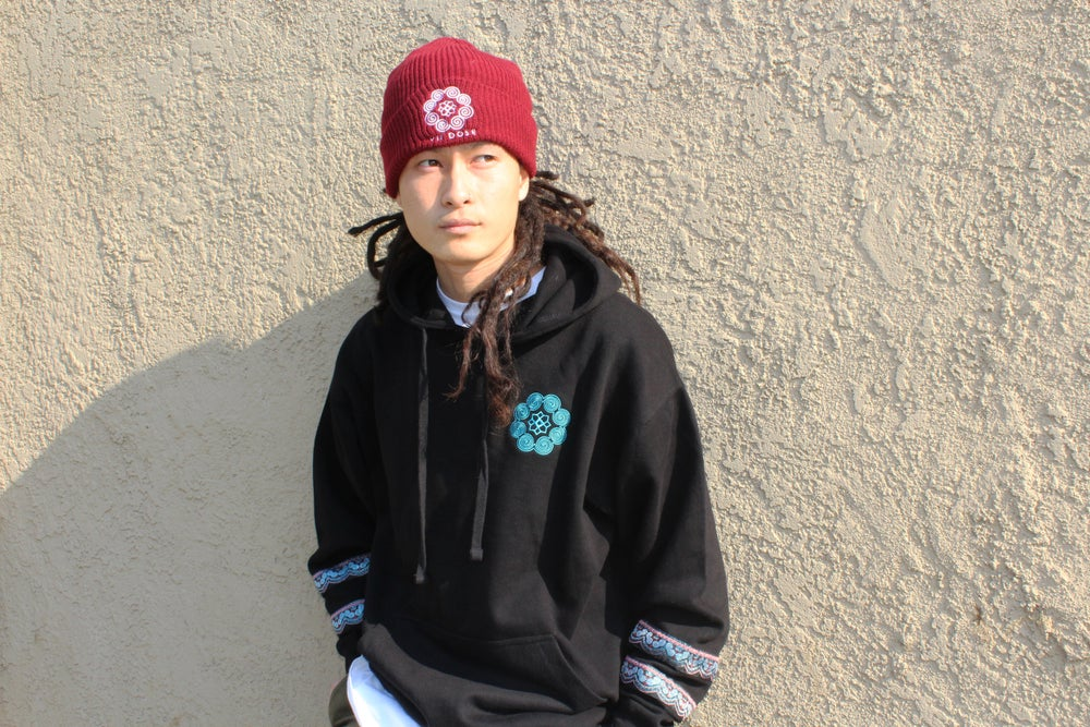 """Image of """"Roots & Culture"""" Beanies (Burgundy)"""