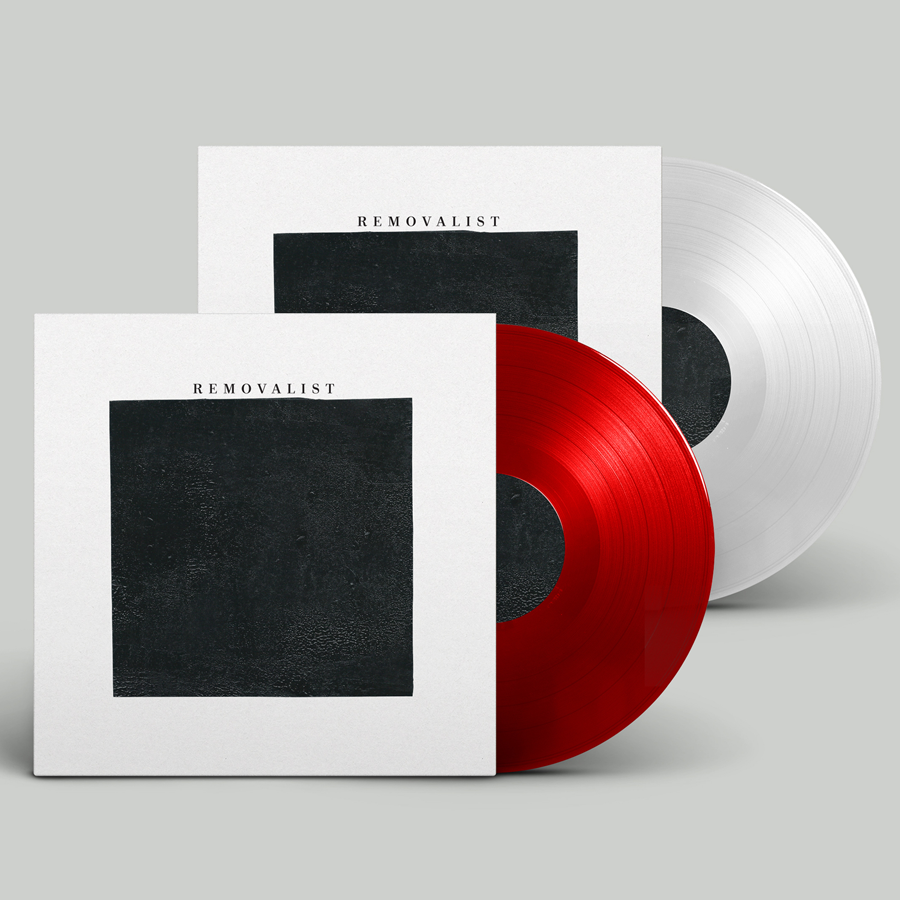 Image of REMOVALIST S/T LP - (Red & White)
