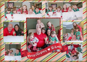 Image of King Family Christmas Card
