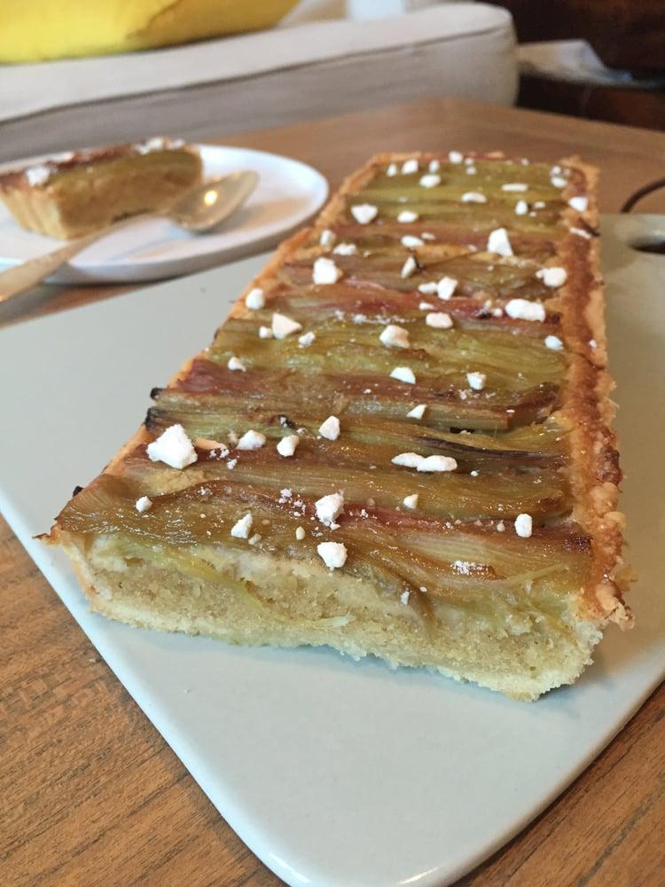 Image of tarte à la rhubarbe aux épices