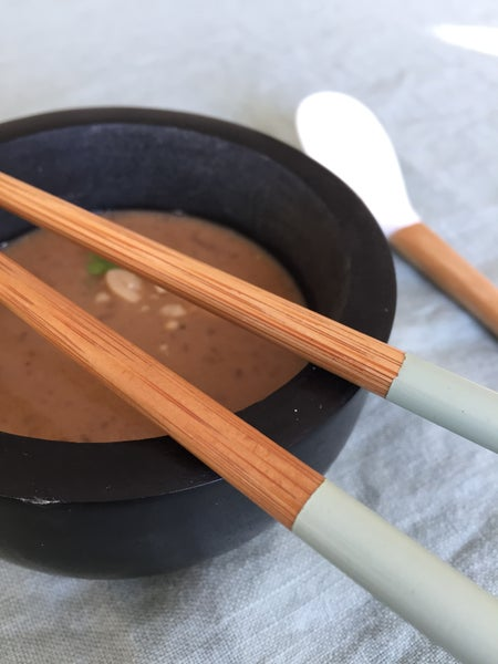 Image of sauce aux cacahuètes