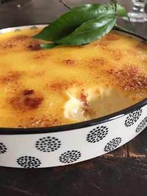 Image of crème brûlée