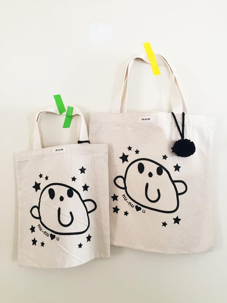 Image of nu-nu loves you book bag