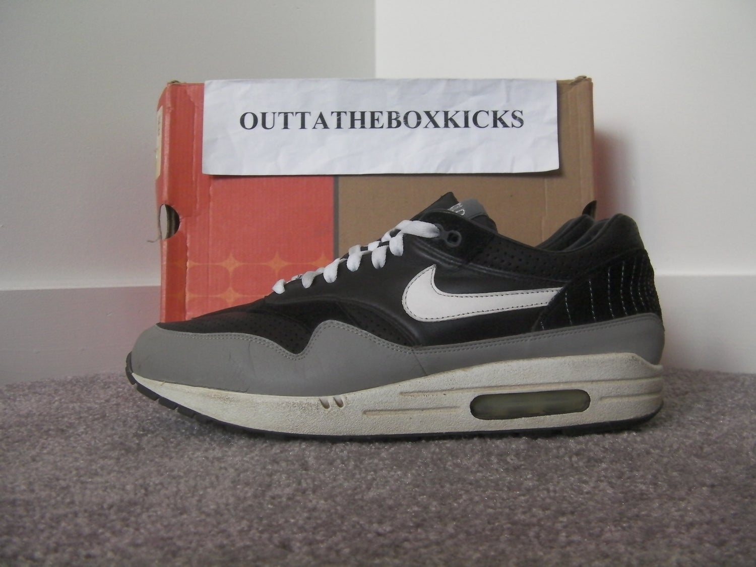 huge discount b8dd7 2937b Nike Air Max 1 Ben Drury Hold Tight size 11
