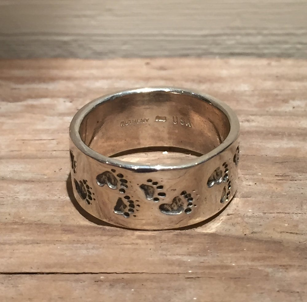 Image of Bear Print Ring