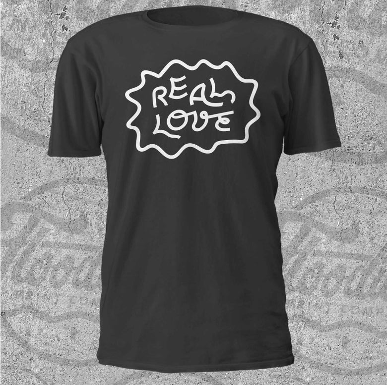 Image of Real Love Logo Tee