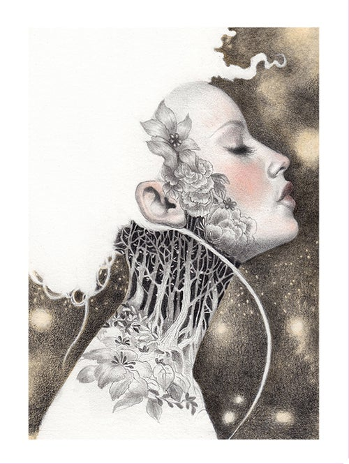 "Image of ""Rosina Leckermaul"" Limited Edition Print"