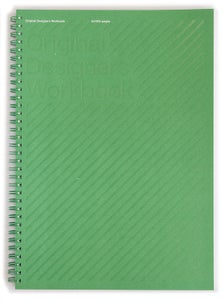 Image of Original Designers Workbook - Green