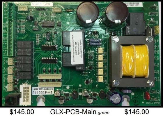 Image of GLX-PCB-Main Pro-Logic System Board - green